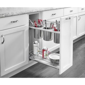 Two-Tier Utility Organizer for Utensils