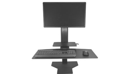 Sit2Stand - Single Monitor/Black