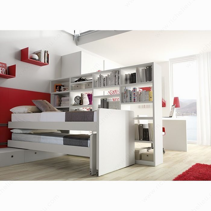 M canisme coulissant quincaillerie richelieu for Jugendliche schlafzimmer