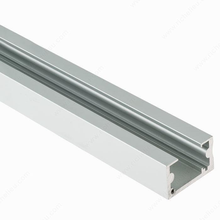 Riel de aluminio para mecanismo de deslizamiento for Rieles de aluminio para toldos