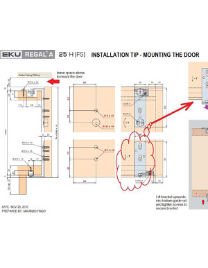 Installation Tip Door Mounting