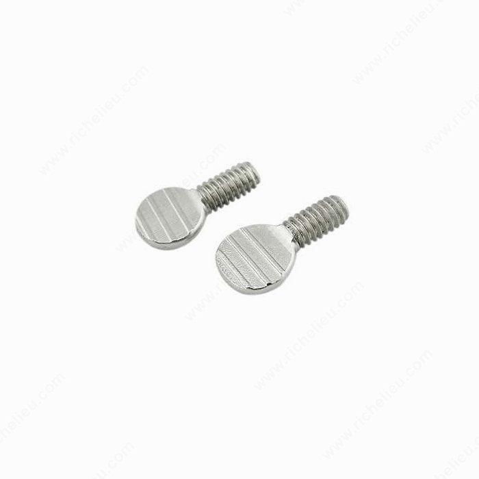 Flat Thumb Screw : Flat thumb screw richelieu hardware