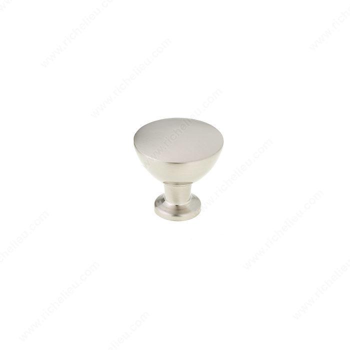 Contemporary metal knob 8720 richelieu hardware - Contemporary cabinet knobs wine locker ...