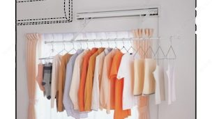 Wall Mount Clothes Drying System