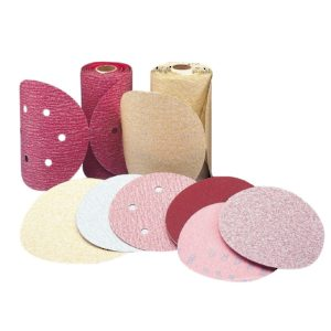 Premier Red Stick-On Sanding Disc