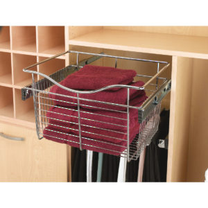 Chrome Wire Pull-Out Baskets