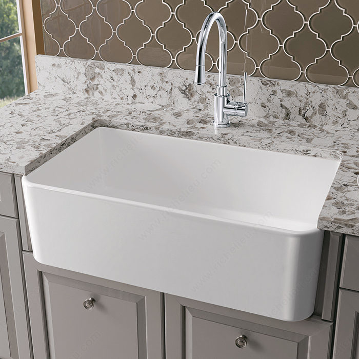 blanco sink cerana fireclay sink the newest material in luxury is ...