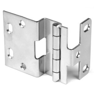 "3/4"" Overlay Institutional Hinge for doors with a thickness up to 1-3/8"""