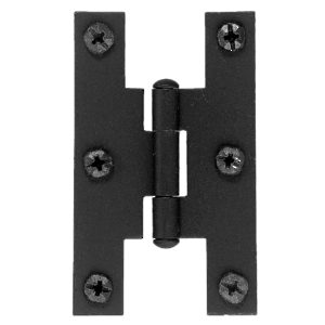 Rustic Hinge in Forged Iron - 0915