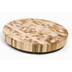 Round Richelieu Butcher Block