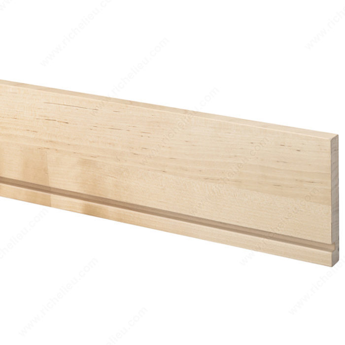 A b graded drawer side skip finger joint richelieu for Finger joint wood doors