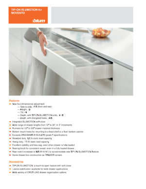 Movento 763 Full Extension Concealed Undermount Slide