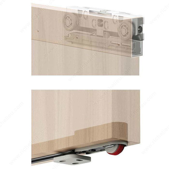 Magic Legno Wall Mount Sliding System With Concealed