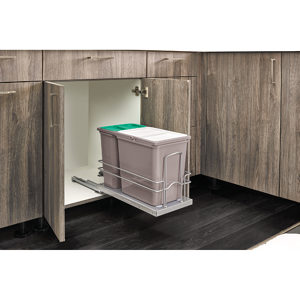 Sink Base Waste Container Pullout