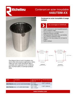 Br/ûleur Acier Inoxydable pour chemin/ée /éthanol ou sur la Table Flamme r/églable 3.5 litres 50 cm
