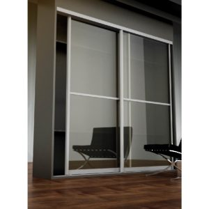 Bridge 500 -- Set for 132 -lb Maximum Aluminum Framed Sliding Doors