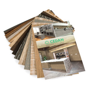Cedan Chain Set - Textured Veneer Sheets with Matte Finish