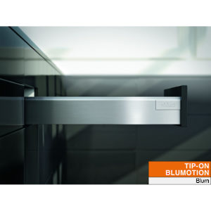 Standard Drawer - Height M (83 mm) for TIP-ON BLUMOTION