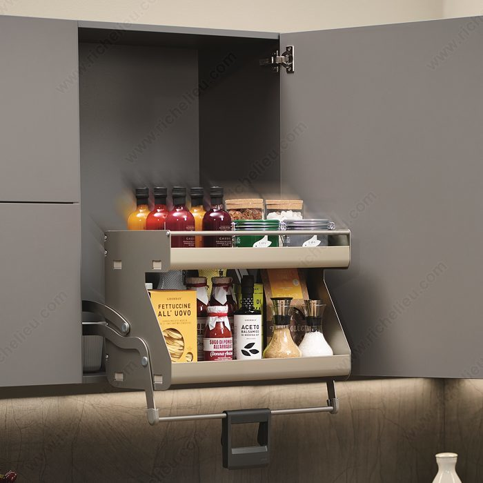 I-Move Retractable System for Framed Cabinet - The Market Leader In Specialty Hardware Products - Richelieu Hardware