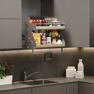 I-Move Retractable System for Frameless Cabinet