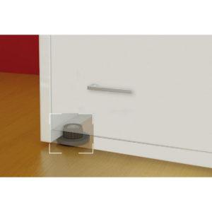 niveleur de meuble r glable quincaillerie richelieu. Black Bedroom Furniture Sets. Home Design Ideas