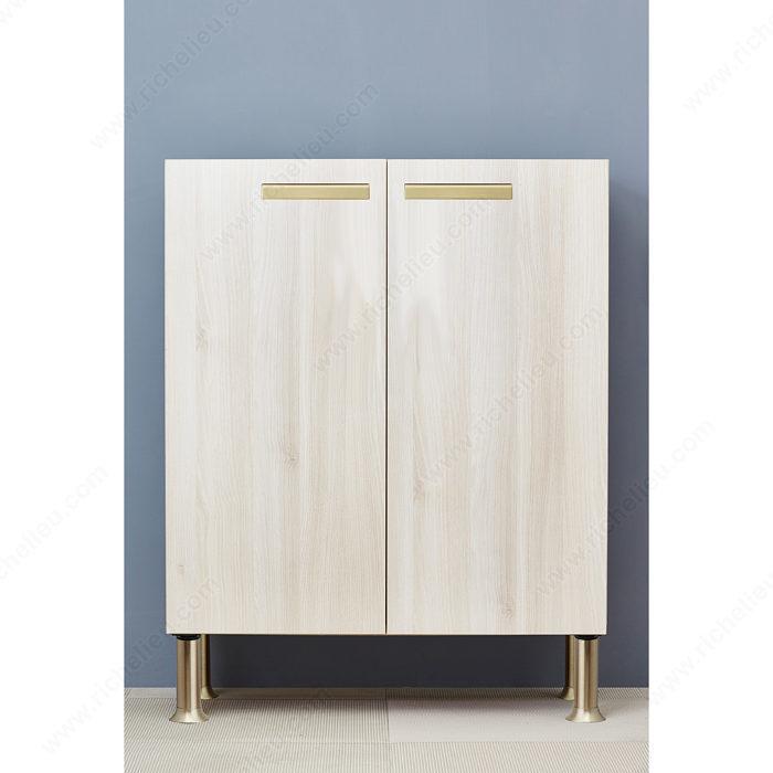 pattes de meubles vintage rondes 641 quincaillerie richelieu. Black Bedroom Furniture Sets. Home Design Ideas