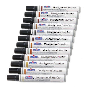 Background Touch-up Marker 12-Pack Assortment