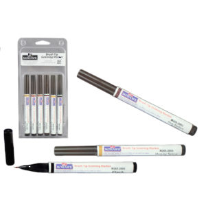 Brush Tip Graining Markers 6-Pack Assortment #1