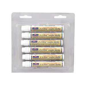 E-Z Flow Leather Markers 24-Pack Assortment