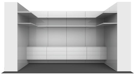 Attached To An Existing Wall, The Components Can Be Used In Any Combination  To Create: U2022 A Walk In Closet In A Bedroom U2022 Shelving In A Home Office