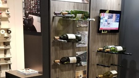 Wall-Mounted Wine Pegs