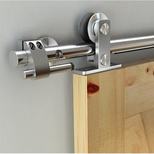 Quincaillerie Pour Portes Coulissantes Intérieures De Style Rustique - Systeme pour porte coulissante