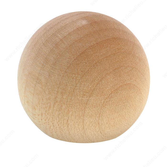 Traditional Wooden Ball Knob 655 Richelieu Hardware