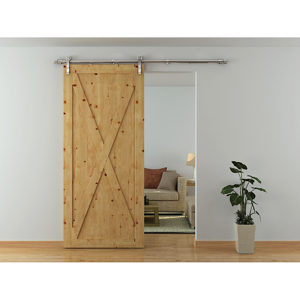 ALBERGO STP with Soft Close - Commercial Grade Barn Door Type Sliding System  sc 1 st  Richelieu Hardware & ALBERGO STP with Soft Close - Commercial Grade Barn Door Type ...