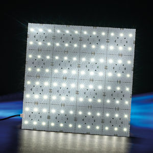LED SNAP Light Panel 24VDC 8W