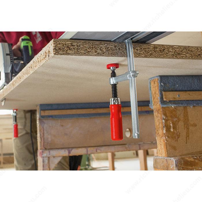 serre joint pour rail table quincaillerie richelieu. Black Bedroom Furniture Sets. Home Design Ideas