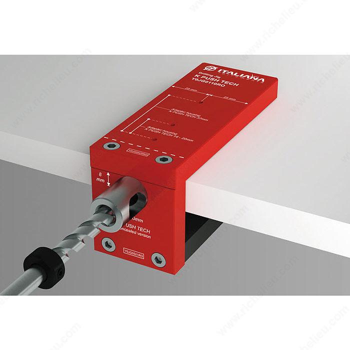 Drilling Jig for K Push Tech - Richelieu Hardware