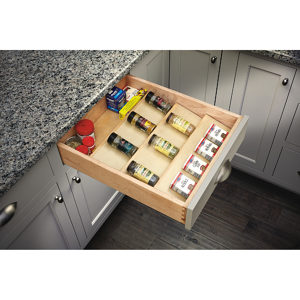 Wood Spice Drawer Insert