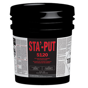STA'-PUT S120 Non-Flammable Adhesive