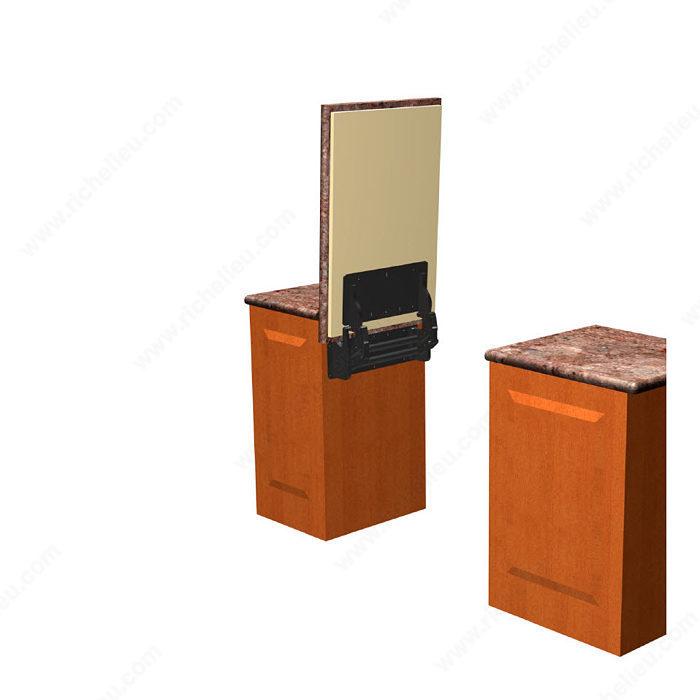 Flip-Up Lift for Medium to Heavy Counter - Richelieu Hardware