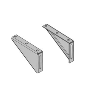 Die Wall Bracket Kit for Flip-Up Counter Lift