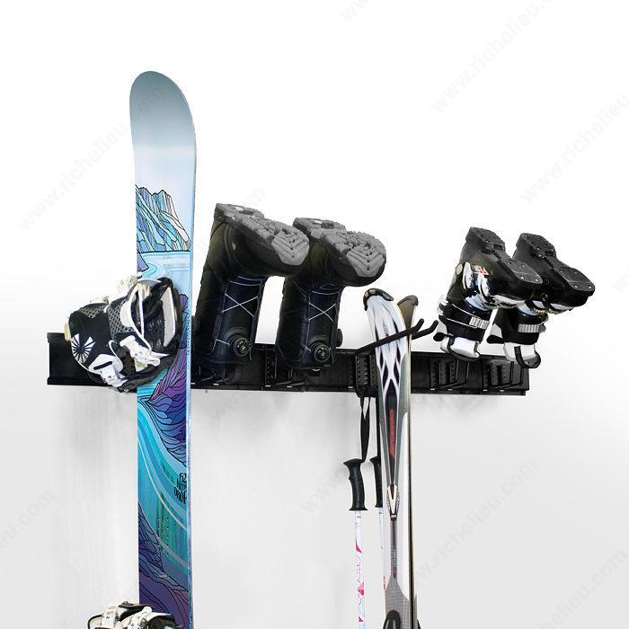 Systeme De Rangement Pour Le Ski Et La Planche A Neige Quincaillerie Richelieu