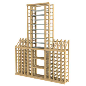Wooden Wine Rack Set - 172 Bottles