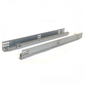 TANDEM Edge Concealed Undermount Partial Extension Slide with Blumotion