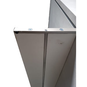 Support Bar for Vertical Wall Bed Mechanism with Shelves