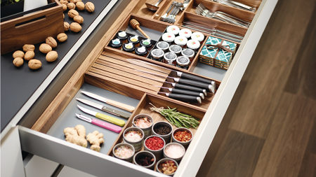 ...and customize drawers