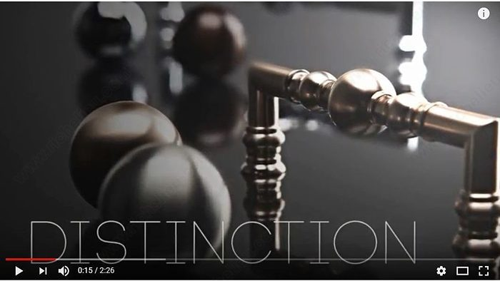 Discover our exceptional line of decorative hardware
