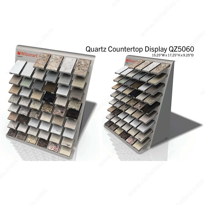 Wilsonart Quartz: Tower Of Wilsonart Quartz Samples