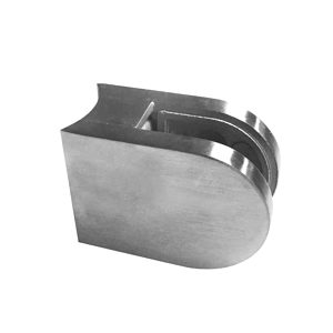 Round Glass Clamp with Rounded Base - Model 507
