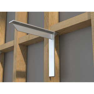 Kolossus Flush Mount Bracket - Aluminum